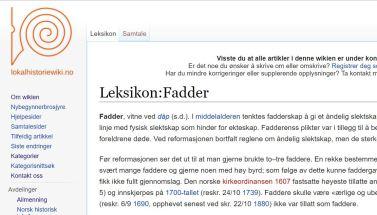 lokalhistoriewiki